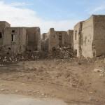 Crumbling buildings