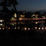 Festival on lake